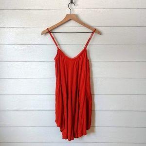 Revolve AMUSE SOCIETY Crepe Slip Dress XS